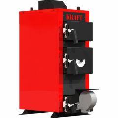 Твердопаливний котел Kraft E new 12 з автоматикою