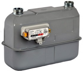 Счетчик газа САМГАЗ G 6 RS/2,4-1 (настроенный для работы при t=15°С)