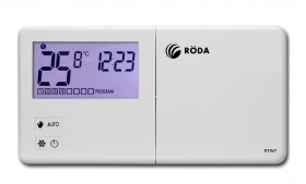 Термостат комнатный недельное программирование RODA RTW7