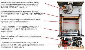 Газовый котел E.C.A. Gelios Plus HM 13 - фото 6