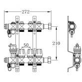 Коллектор SD Forte терморегулирующий 1