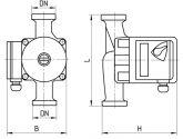 Циркуляционный насос Aruna RM 25-4-180 11240 - фото 4