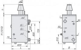 Газовый котел Рівнетерм 40В - фото 3