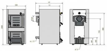 Твердотопливный котел Caldera Solitherm ST 4S - фото 3