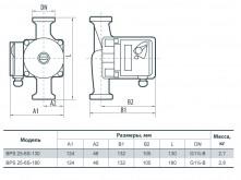 Насосы+ BPS 25-4S-180 - фото 3