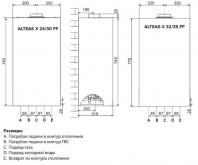 Газовый котел Ariston ALTEAS X 32 FF NG - фото 3